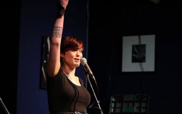 Erin Dingle features at the Van Slam