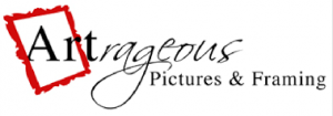 the logo of Artrageous Pictures & Framing