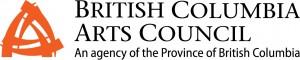 the logo of BC Arts Council