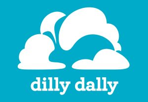 the logo of dilly dally