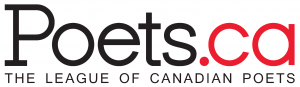 the logo of League of Canadian Poets
