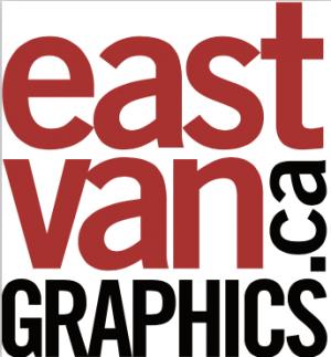 the logo of East Van Graphics