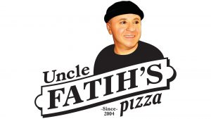 the logo of Uncle Fatih's Pizza