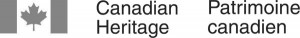 the logo of Canadian Heritage