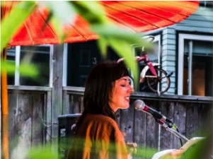 Julie Peters features at Vancouver Poetry Slam